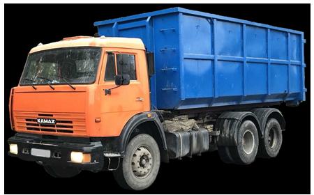 вывоз мусора контейнером 20 м3
